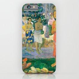 Paul Gauguin - Hail Mary (Ia Orana Maria) iPhone Case