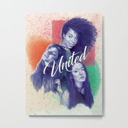 United Metal Print
