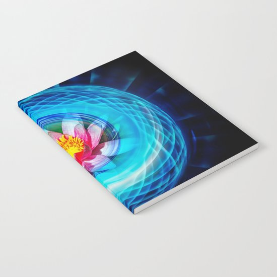 Wellness Water Lily Notebook