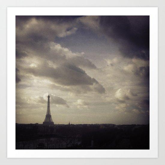 Ah, Paris! Art Print