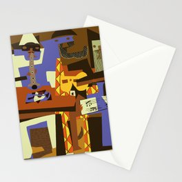 Picasso - The Musician Stationery Cards