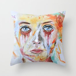 Deep Soul 11 Throw Pillow