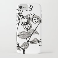 jasmine iPhone & iPod Cases featuring Jasmine by Dianadia