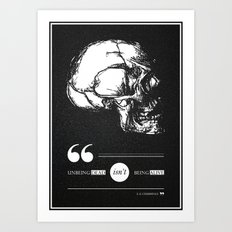 Dead or alive Art Print