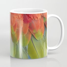 Macaw Feathers. Coffee Mug