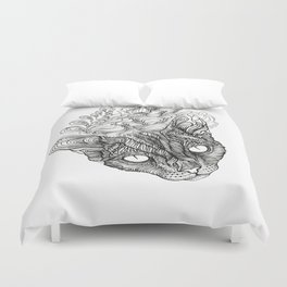 spirit of devonrex  Duvet Cover