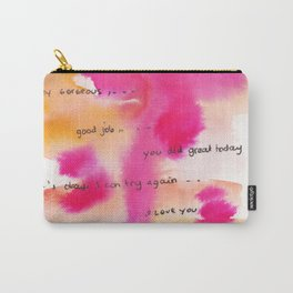 4    | Gentle Reminder Words |190826 | Carry-All Pouch