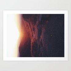 Fade to light Art Print