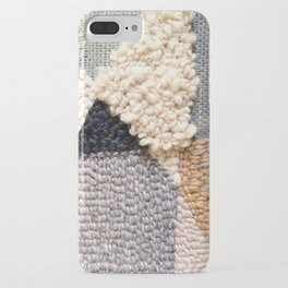 Mountain Tops Rug Hooked Art iPhone Case