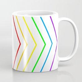 Rainbow Shape of You Coffee Mug