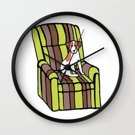 Eddie & The Ugly Chair Wall Clock