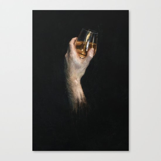 Study in Scotch Canvas Print