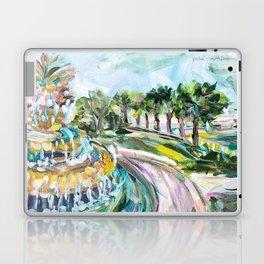 Charleston Pineapple Fountain Laptop & iPad Skin