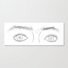 Unkempt: Brows Canvas Print