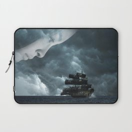 Pirate boat Laptop Sleeve