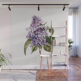 Lilac Branch Wall Mural
