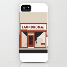 Highway Laundromat iPhone Case