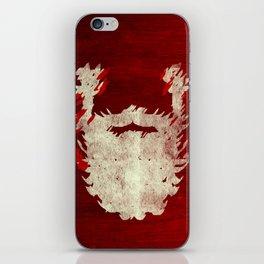 Santa Beard 1 iPhone Skin
