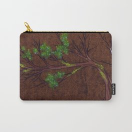 Western juniper tree portrait Carry-All Pouch