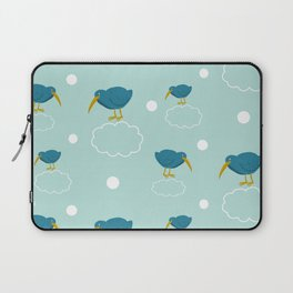 Kiwi birds on the clouds Laptop Sleeve