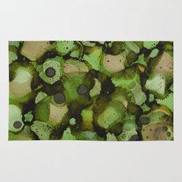 Overflow, Green Tea Rug
