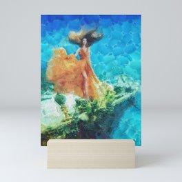 Into Deep Mini Art Print
