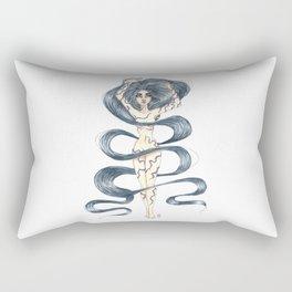 Rising up from myself Rectangular Pillow