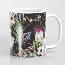 Dark flowery colorful bouquet 01 Coffee Mug