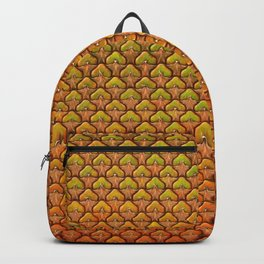 Pineapple Mania Texture Backpack