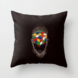Enigma (dark version) Throw Pillow