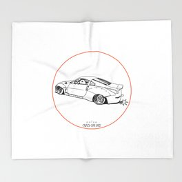 Crazy Car Art 0200 Throw Blanket