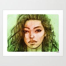 Adrianne 02 Art Print