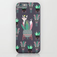Plants, pots and cats Slim Case iPhone 6s