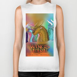 Wings Of Fire Dragons Biker Tank