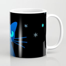 Glow in the Dark Cat Coffee Mug