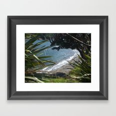 Goat Island New Zealand  Framed Art Print