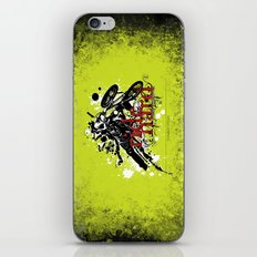 ride hard - BMX iPhone & iPod Skin