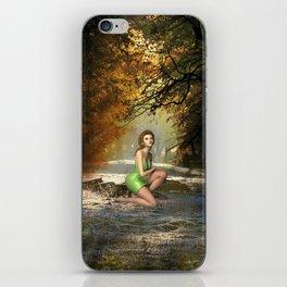 Forest Sprite iPhone Skin