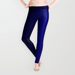 Rich Vibrant Indigo Blue Gradient Leggings
