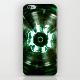 Looking Glass - Green iPhone Skin