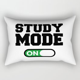 Study Mode Rectangular Pillow