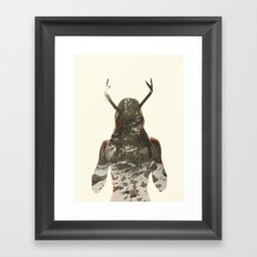 Natural habitat Framed Art Print