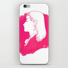 Pink Victorian iPhone & iPod Skin