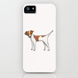 Russ the dog iPhone Case