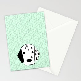 Pop Dog Dalmatian Stationery Cards
