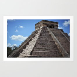 El Castillo (2) Art Print