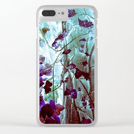 Enchanting Ivy Clear iPhone Case
