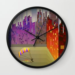 Landing in The Main Square Wall Clock