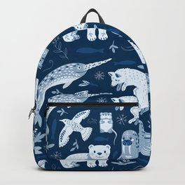 Arctic nature Backpack