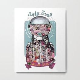 Drop Zone Metal Print